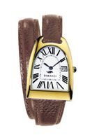Dimacci Nicy Queen II Cognac Yellow Gold / White Dial - DI66251