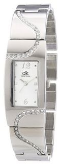dk Quartz Woman DKLA-90251-72M with Metal Strap
