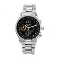 D&G Dolce & Gabbana DW0430 tone Stainless Steel Black Chronograph Dial