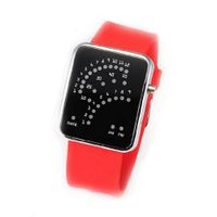 Eeleva 29 LED Blue Red Light Digital Date Time Lady  Wrist