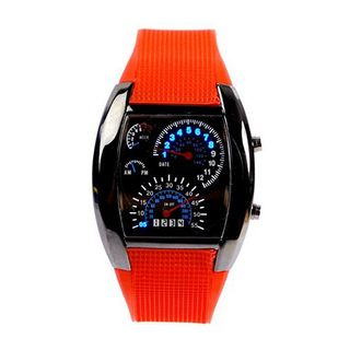 Eeleva RPM Turbo Blue Flash LED BRAND NEW Gift Sports Car Meter Dial  Red