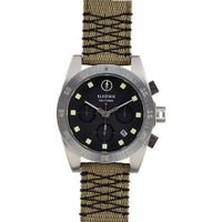 Electric Visual DW01 Nato Luxury - Black/Olive / One Size