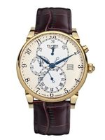 Elysee 42mm Daidalos Quartz Dress with Calendar and 24-Hr Sub-Dial 80515