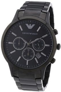 Armani Classic Chronograph Stainless Steel - Black #AR2453