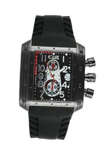 Big Block with Black Dial and Silver Hand