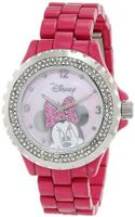 Disney 56270-1C Minnie Mouse Pink Enamel Sparkle