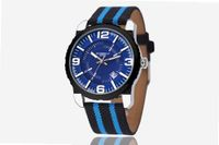 uEyki by Ufingo Ufingo-Casual Canvas Pattern Sports Waterproof Wrist Quartz With Calendar For /Boys-Blue