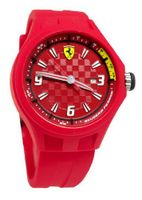 Ferrari 0830007 Pit Crew Red Dial Red Silicon  NEW