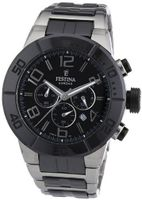 Festina Ceramic F16576/2 Two-Tone Ceramic Quartz with Black Dial