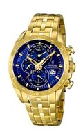 Festina - Gold Stainless Steel Band - Chronograph - F16656/3