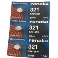 #321 Renata Batteries 3Pcs