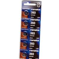 #393 Renata Batteries 10Pcs