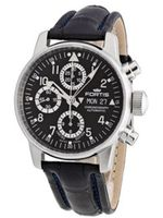 Fortis 597.20.71 LC.05 Flieger Chronograph Automatic Day and Date Limited Edition Leather Croc