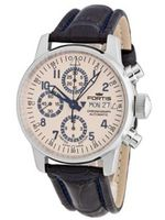 Fortis 597.20.92 LC.05 Flieger Chronograph Automatic Day and Date Limited Edition Leather Croc