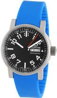 Fortis 623.10.41 Si.17 Spacematic Swiss Automatic Luminous Day and Date Blue Silicone Strap
