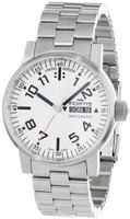 Fortis 623.10.42 M Spacematic Swiss Automatic Luminous Day and Date Stainless Steel Bracelet