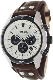 Fossil Coachman Chronograph Leather - Brown Ch2890