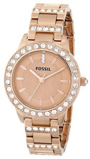 Fossil ES3020 Jesse Analog Display Analog Quartz Rose Gold