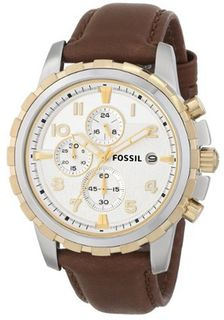 Fossil FS4788 Dean Chronograph Leather - Brown
