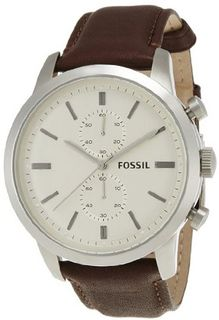 Fossil FS4865 Townsman Analog Display Analog Quartz Brown