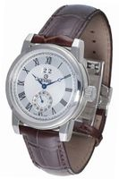 Gevril 2505L Madison brown leather band .