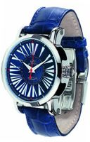 Gio Monaco 154-A oneOone Automatic Blue Alligator Leather