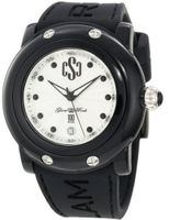 Glam Rock GD1001 Miami Beach Silver Textured Dial