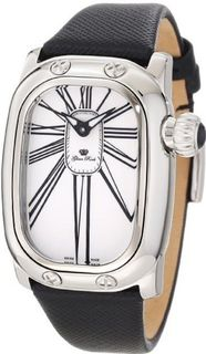 Glam Rock GR72005-BLK Monogram White Dial Leather