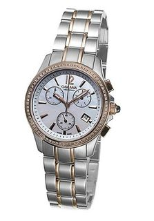 Golana Aura Pro Swiss Made Ladies Chronograph Diamond Set AU250-4