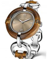 Gucci Bamboo Collection brown dial