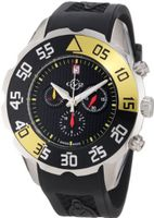 GV2 by Gevril 3000R Parachute Chronograph Rubber Date
