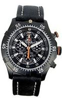 H3 TACTICAL Commander Carbon Chrono Leather #H3.322171.12