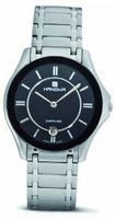 Hanowa 16-5015.6.04.007 Ascot Black Dial Two-Tone Steel
