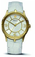 Hanowa 16-6030.02.001 Prestige Gold IP White Leather