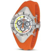Helix HX390-02M12S Links Orange Rubber Band Chronograph