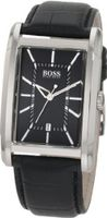 Black Hugo Boss Rectangular Date 1512619