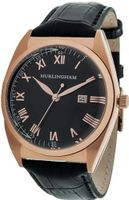 Hurlingham Barclay H-70350-F with Black Leather Band