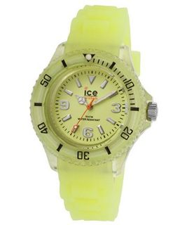uIce-Watch Ice-Glow Glow Yellow Dial Glow Yellow Silicone