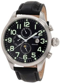 Ingersoll IN1602BK Automatic Buffalo II Black