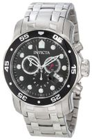 Invicta 0069 Pro Diver Collection Chronograph Stainless Steel