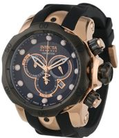 Invicta 0361 Reserve Collection Venom Chronograph Black Polyurethane