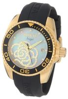 Invicta 0489 Angel Collection Cubic Zirconia Accented Polyurethane