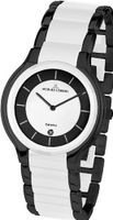 Jacques Lemans 1-1581E Dublin Classic Analog with HighTech Ceramic and Sapphire Glass