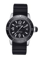 Jaeger LeCoultre Master Compressor Automatic Black Dial Stainless Steel Rubber Q2018670