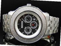 3.0 Ct Jojino Joe Rodeo Aqua Master Jojo 52 MM Real Diamond Wrist Mj-8031