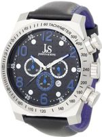 Joshua & Sons JS-14-BU Chronograph Stainless Steel Sports