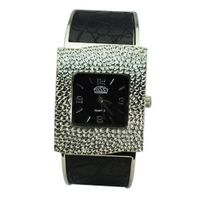 Bracelet Band Quartz Movement Wrist - Black
