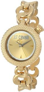 Just Cavalli R7253137617 Lily Yellow Gold Ion-Plated Coated Stainless Steel Sunray Dial
