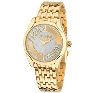 Just Cavalli r7253593501 40mm Gold Steel Bracelet & Case Mineral