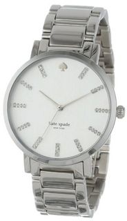 kate spade new york 1YRU0095 Large Stainless Crystal Markers Gramercy